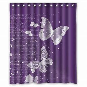 48 best images about bathroom ideas on pinterest With purple butterfly curtains