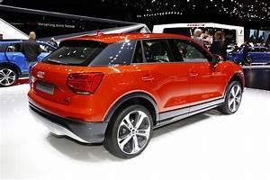 Nouveau Q3 Audi : audi q2 les photos du nouveau petit suv audi un nouveau q chez audi l 39 argus ~ Medecine-chirurgie-esthetiques.com Avis de Voitures