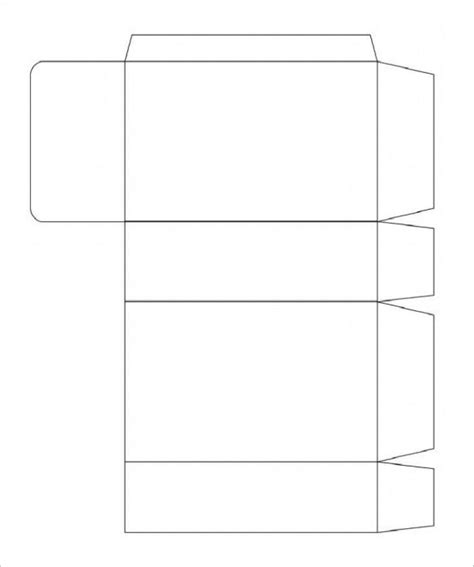 rectangular box templates designs