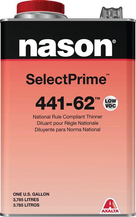 axalta nason select prime thinner   gallon