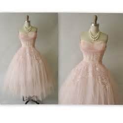 retro bridesmaid dresses 50 39 s prom dress vintage 1950 39 s strapless pink