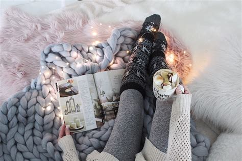 embracing hygge  winter months simple cozy charm