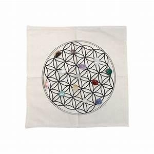 Tapis Fleur De Vie : tapis geometrie sacree fleur de vie ~ Teatrodelosmanantiales.com Idées de Décoration