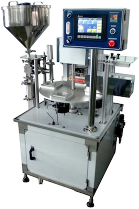 rotary cup fill seal machine rotary tray top seal machine utoc singapore pte