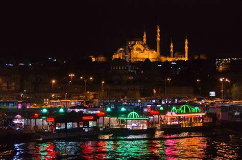 Istanbul at night, a photo from Istanbul, Marmara
