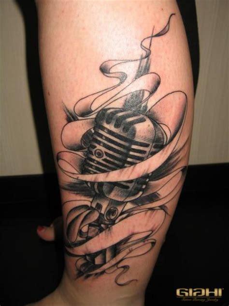 bein mikrofon tattoo von giahi