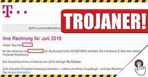 Gefälschte Telekom Rechnung Per Post : gef lschte telekom rechnung mit trojaner als download ~ Themetempest.com Abrechnung