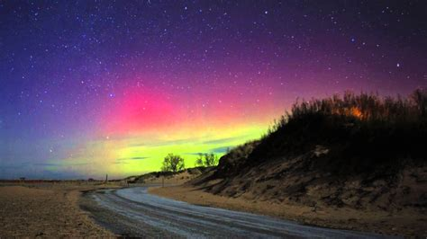 northern lights in michigan northern lights in michigan s lower peninsula