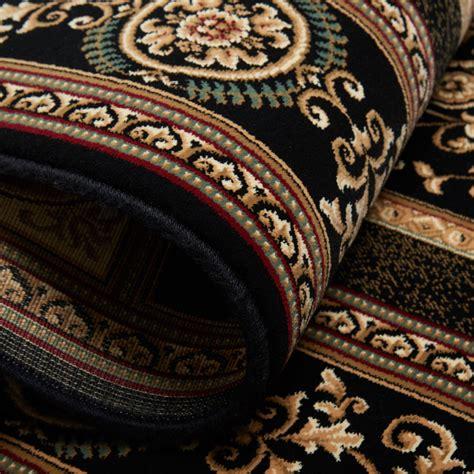 Free S&h Black Persian Area Rug 10 X 13 Huge Oriental 7
