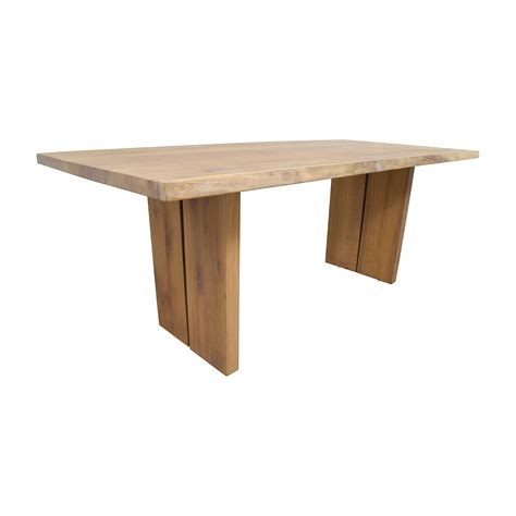 modern wood dining table 54 off modern wood plank dining table tables