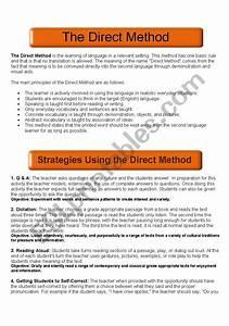 Direct Method Guide