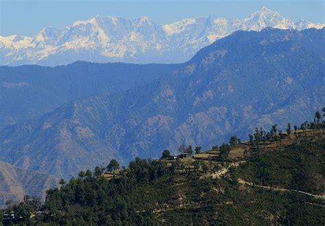 filea himalayan mountain range view uttarakhand india