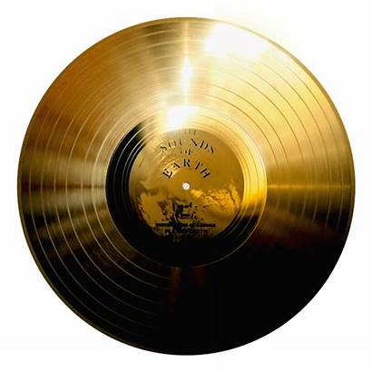 Gold Record Golden Disc Voyager Effect Credit