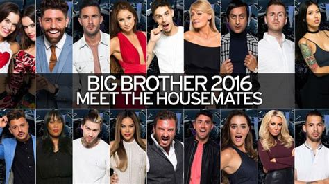 full big brother 2016 line up and photos mirror online