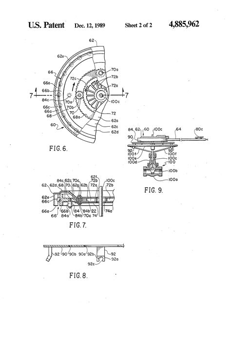 Patent US4885962 - Pneumatic torque wrench for valve