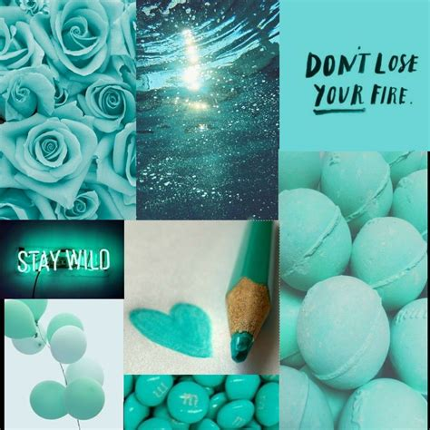 teal aesthetic blue turquoise quote turquoise