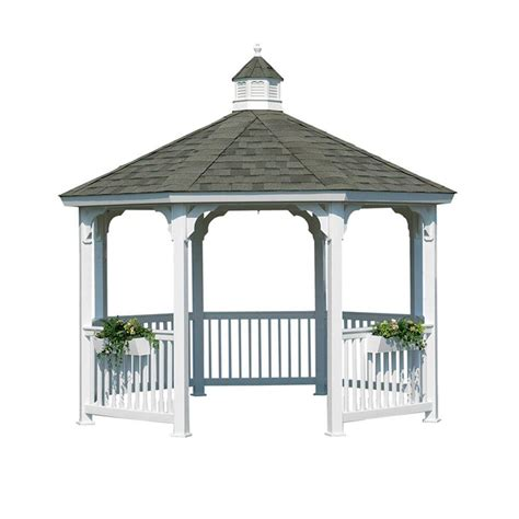 Backyard Canopy Home Depot by Gazebos Sheds Garages Outdoor Storage The Home Depot