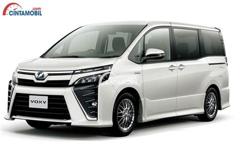 Review Toyota Voxy by Review Toyota Voxy 2017 Indonesia