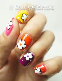 Pics photos nail designs easy flower