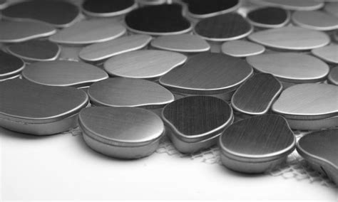 buy martini mosaic pebble series pebble stainless steel