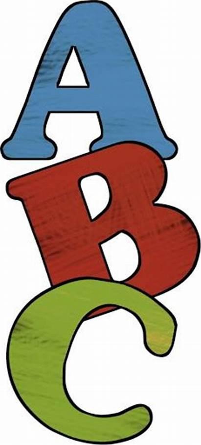 Abc Clip Clipart Alphabet Teacher Paper Mais
