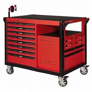 Etabli D Atelier : etabli d 39 atelier roulant 14 tiroirs ~ Edinachiropracticcenter.com Idées de Décoration