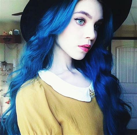 Blue Hair Name by Untitled Image 3403511 By Loren On Favim
