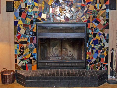mosaic fireplace httplometscom