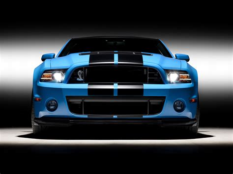 blue shelby gt front studio wallpapers  blue
