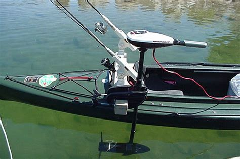 Electric Trolling Motor On A Canoe by Mounting A Trolling Motor On A Kayak Search