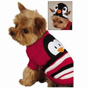 Piggyback Pals Dog Sweater Set - Penguin | BaxterBoo