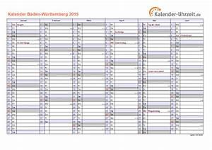 Feiertage 2015 BadenWürttemberg + Kalender