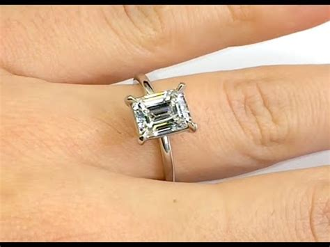 emerald cut engagement rings  carat   day