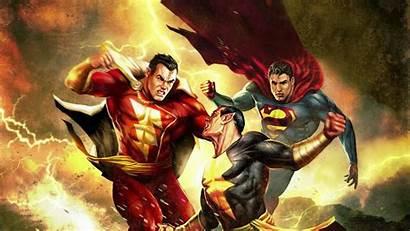 Shazam Superman Adam Wallpapers 4k Ultra Blackadam