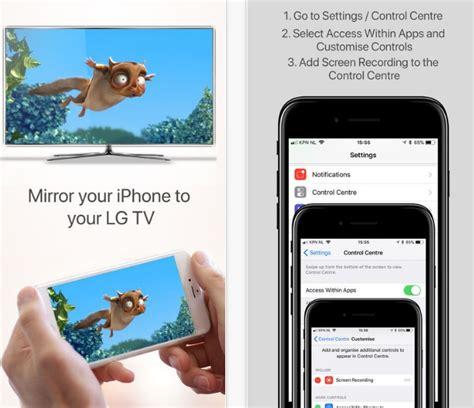 how to mirror iphone to apple tv تطبيق airbeamtv ي تيح الآن عرض شاشة iphone على تلفاز lg