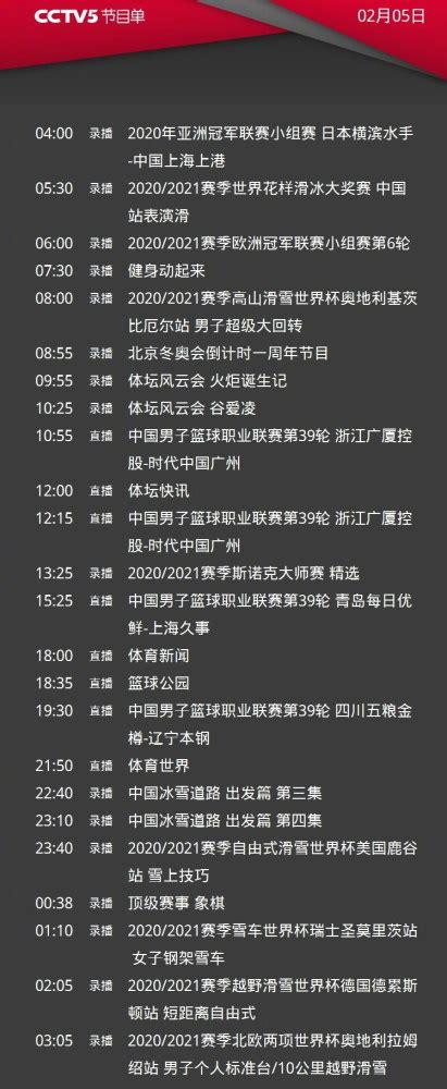 CCTV5直播辽篮vs最水总冠军,5+转广东男篮,央视共转5场CBA_腾讯新闻