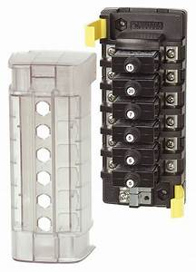 Blue Sea 5050 6 Position Circuit Breaker Block
