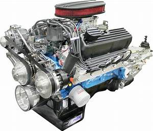 Blueprint Engines Builder Series 347ci Stroker Engine And
