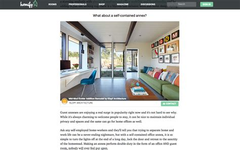 Homify Features Our Mid-mod Eichler Remodel Addition