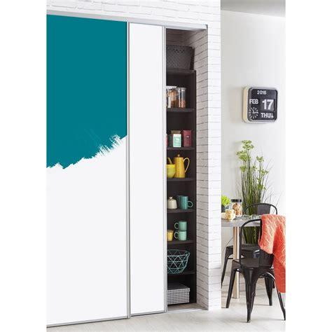 porte de placard coulissante a peindre ou à tapisser