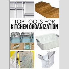 Tips To A More Organized Kitchen Cabinets & Drawers