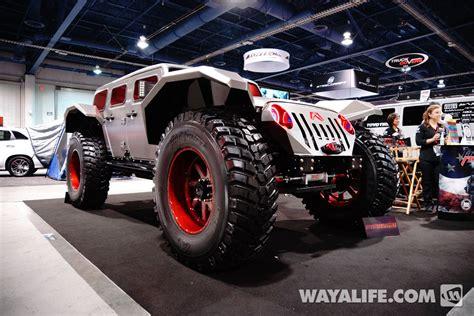 jeep forward control sema 2014 sema show recap