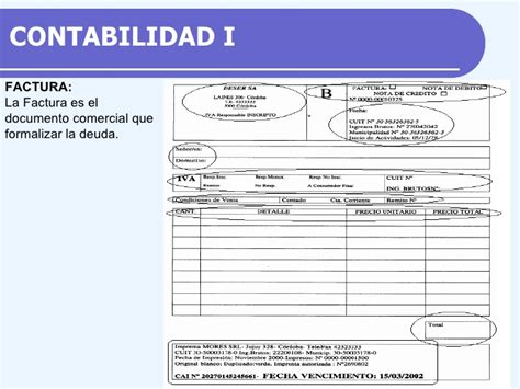 documentos comercial ii contabilidad i