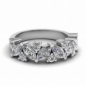 2018 Popular Wedding Bands That Fits Around Engagement Ring
