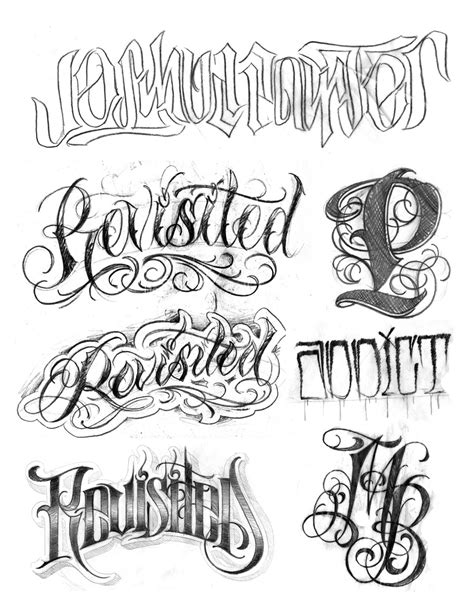 eBook: Lettering Guides 1-3 by BJ Betts - Tattoo Smart