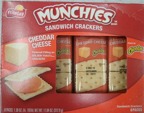 Munchies Nacho Cheese Sandwich Crackers (pack