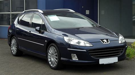 Peugeot 407 V6 Hdi Technical Details History Photos On