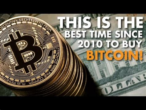 After surging earlier this year, bitcoin's price david and tom just revealed what they believe are the ten best stocks for investors to buy right now… and walmart wasn't one of them! This is the best time since 2010 to buy Bitcoin! - Vortex Interview - YouTube