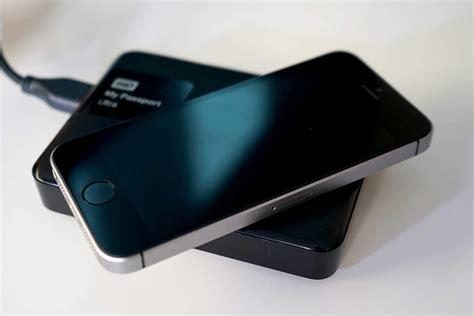 iphone  ipad   external drive