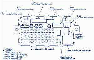 2007 Honda Civic Ex Fuse Box Diagram